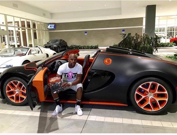 Mayweather's New $3.5M Veyron