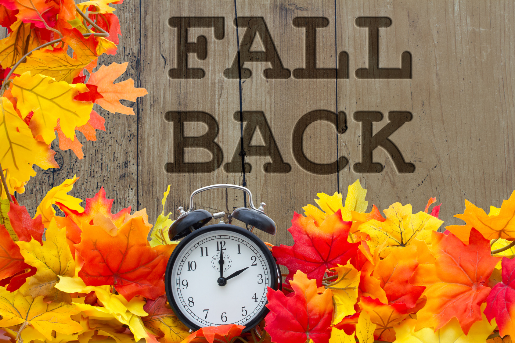 Fallback 2015 - time change reminder