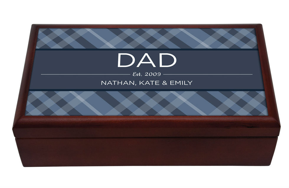 keepsake box for dad