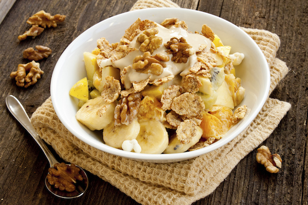 myfitnesspal healthier cereal