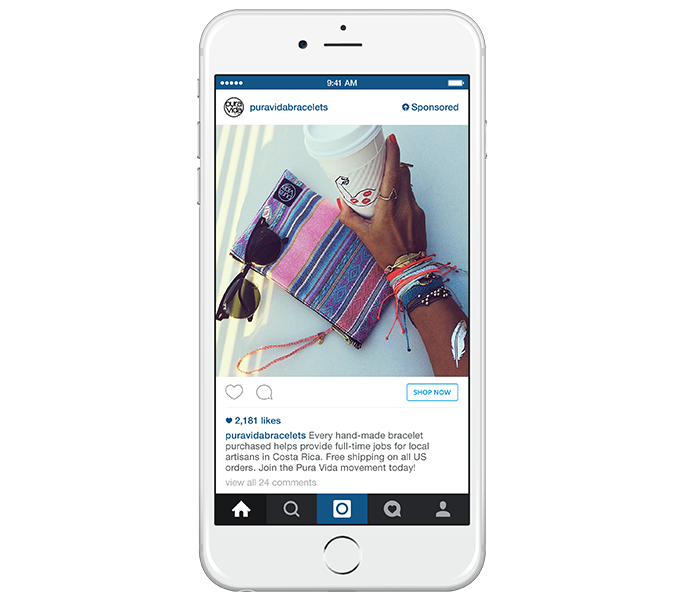 Instagram Ads Now Available Worldwide - mobile iPhone