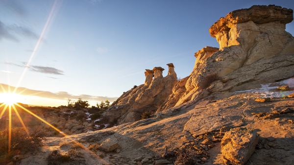 Welcome to the Grand Staircase National Monument in southern Utah.