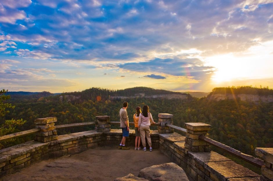 Red River Gorge by John LairChimney Top Rock