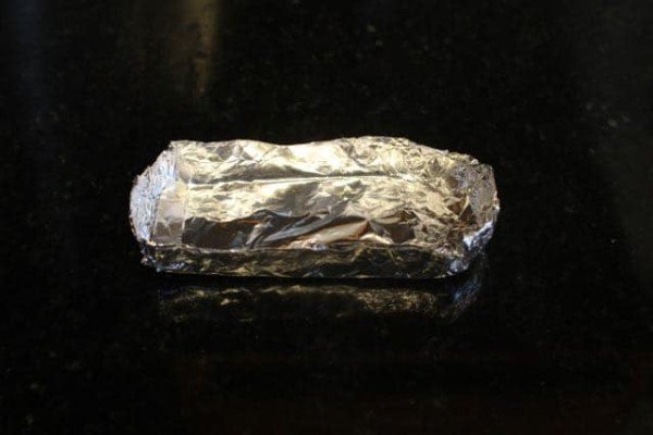 aluminum foil container for smoke bomb