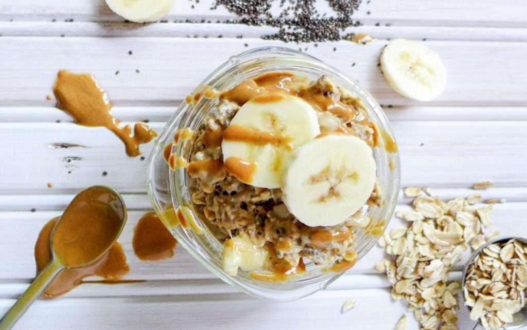 Banana-PB-Overnight-Oats