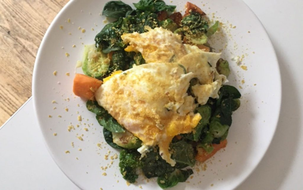 Eggs-over-Veggie-Hash
