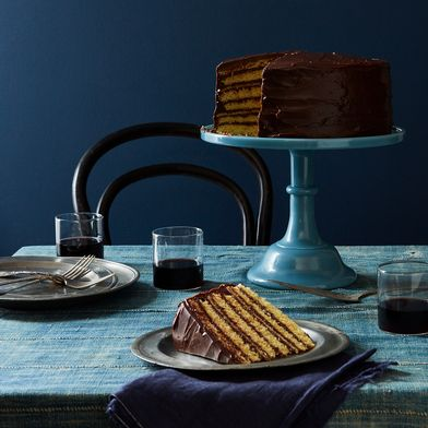 Food52 x Mosser Chelsea Glass Cake Stand