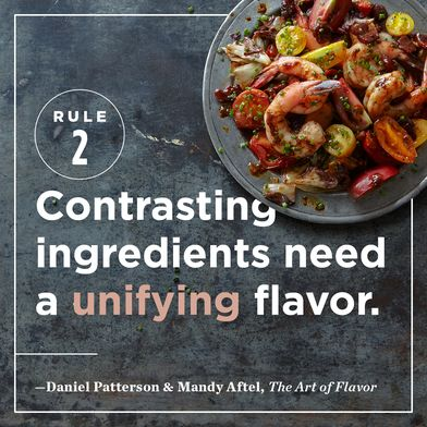 The Rule Chefs Use to Unite Very Different Ingredients into a Balanced Dish
