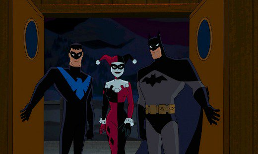 batman and harley quinn, animated, dc entertainment, blu-ray, warner bros animation, review, warner bros pictures