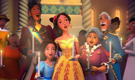 celebrations to remember, elena of avalor, animated, tv series, adventure, review, disney channel