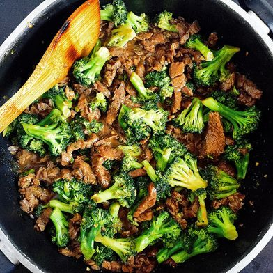 My Mom's Beef and Broccoli Stir Fry
