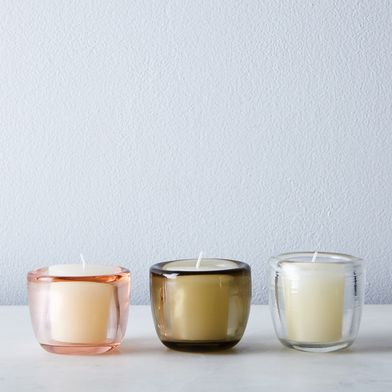 Glass Votive Holders (Set of 6)