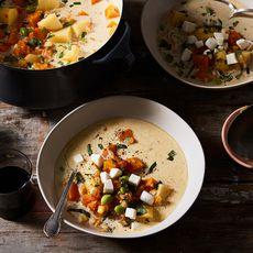7b4f22ec 3a79 47e5 abe4 7b6e91af89d9  2017 1114 mozzarella topped squash stew mark weinberg 0319