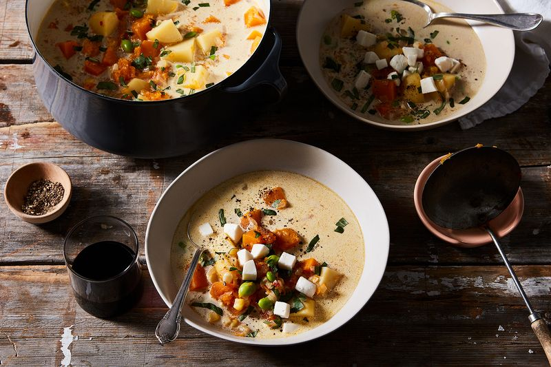 A Peruvian stew moves to America.