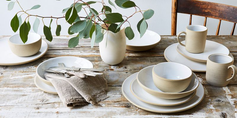 Handmade yet refined, sturdy yet elegant—perfectly balanced for whatever your tablescape aesthetic.