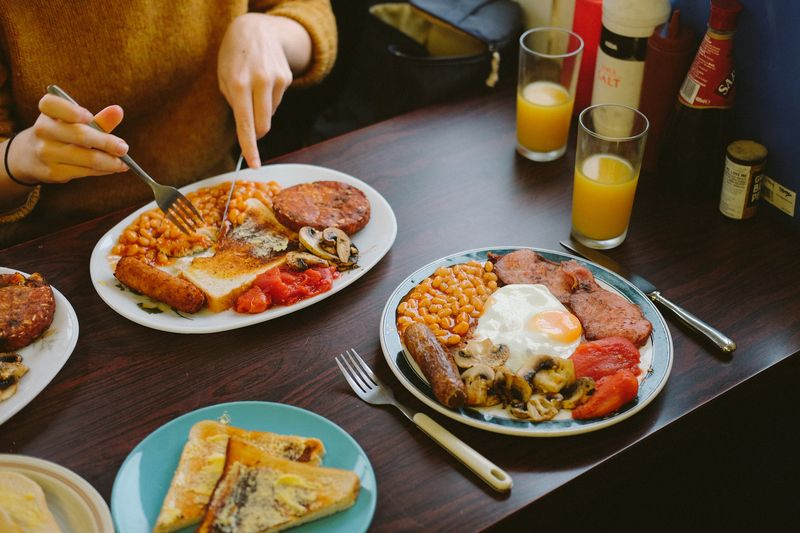 Now *that's* a full breakfast.