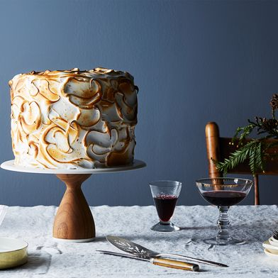 Toasted Meringue Layer Cake