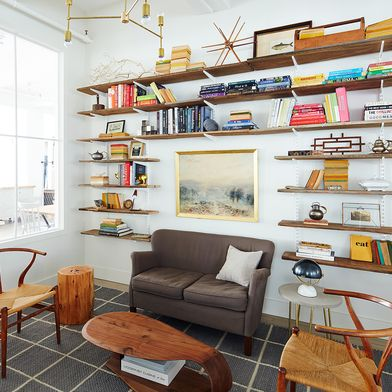 Our Art Director's Best Advice for Styling Open Shelves