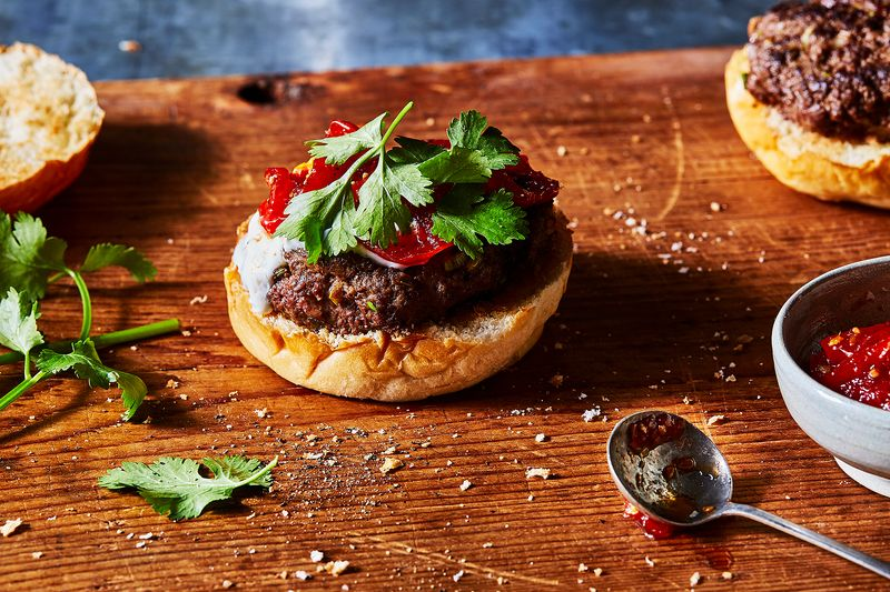 Kashmiri Venison Burger
