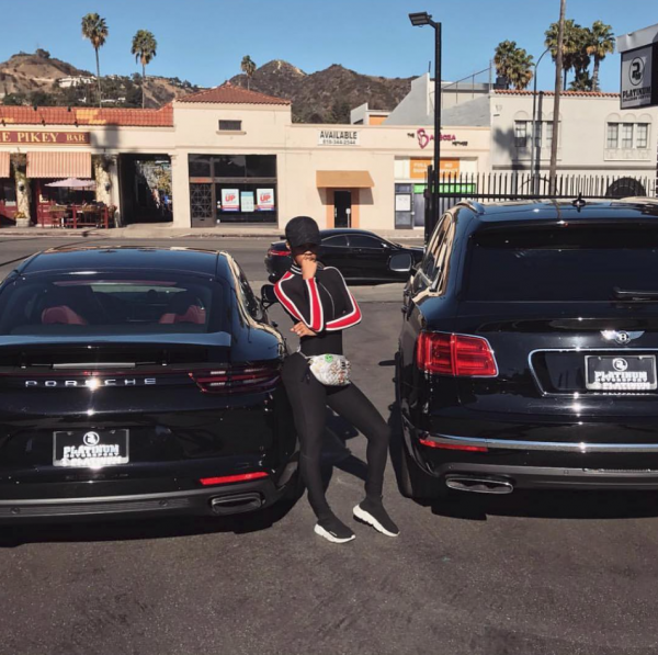 Teyana Porsche Bentley