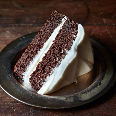 See How The Deepest, Darkest Gingerbread Cake Gets Made