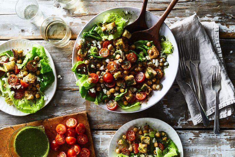 A balanced lunch that won't leave you feeling sluggish.
