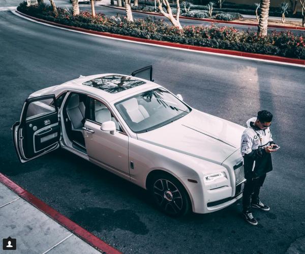 Pauly D Rolls Royce