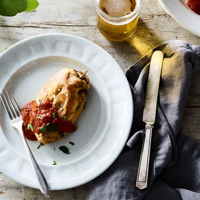 Cheddar Cheese Chiles Rellenos