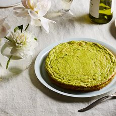 Spring Pea and Ricotta Torte with Lemon and Mint