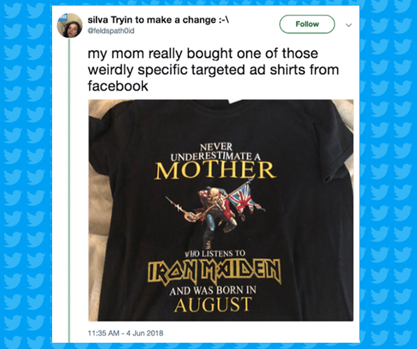 targeted tshirt