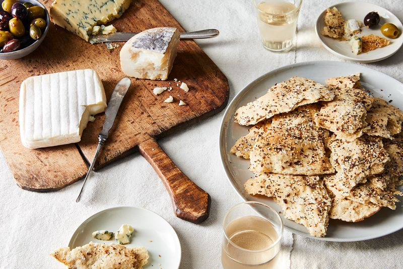 Every good cheese board needs good crackers.